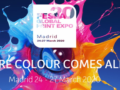 ChromaLuxe will be at FESPA Global Print Expo 2020: 'Where Colour Comes Alive'