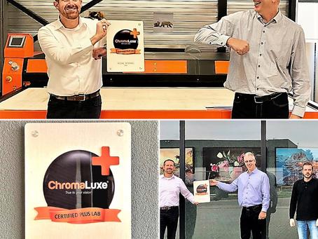 Es gibt ein neues ChromaLuxe Certified Plus Lab*