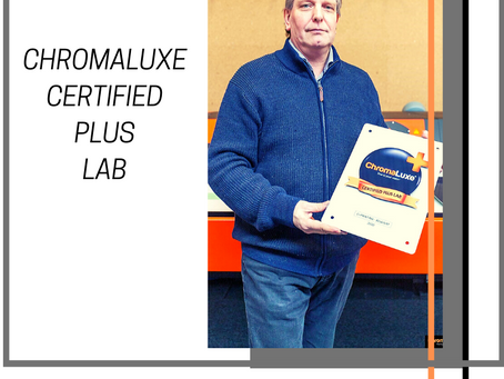 C+Printing is from now on a ChromaLuxe Certified Plus Lab
