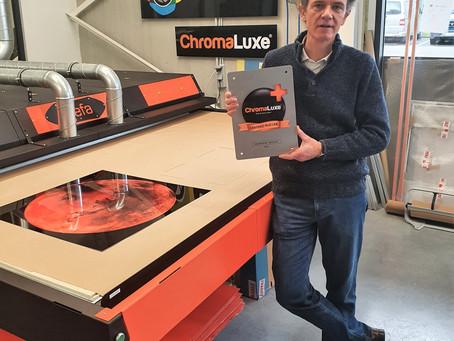COLORFIELDS Fine Art Printing erhält ChromaLuxe Certified Plus Lab-Zertifizierung*