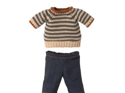 Maileg jumper & jeans Teddy Dad