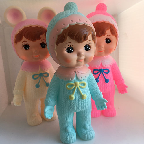 Lapin & Me Woodland Doll - blue