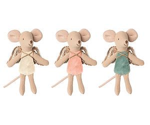 Maileg Fairy Mouse - Little Brother/ Sister size - choice  of colours