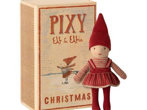 Maileg Pixy Elfie in Matchbox - Christmas Elf