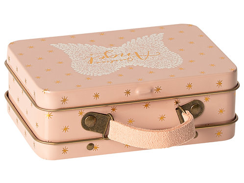 Maileg Pink Metal Suitcase - Guardian Angel