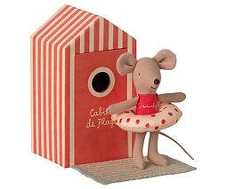 Maileg beach little sister mouse.jpg