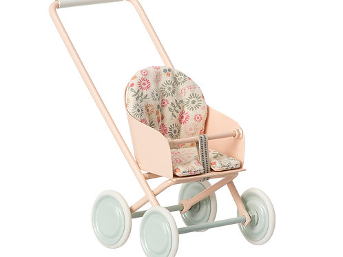 Maileg Pushchair  - powder pink