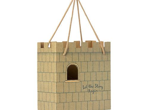 Maileg Castle Gift Bag - Mint