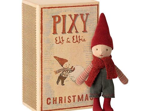 Maileg Pixie Elf in Matchbox