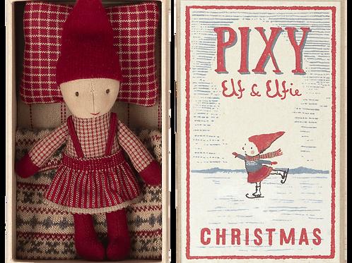 Maileg Pixie Elfie in Matchbox - Christmas Elf