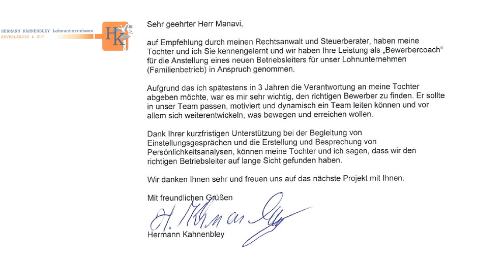 Referenz Hermann Kahnenbley