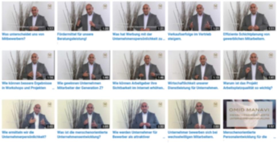 Youtube Kanal Manavi GmbH