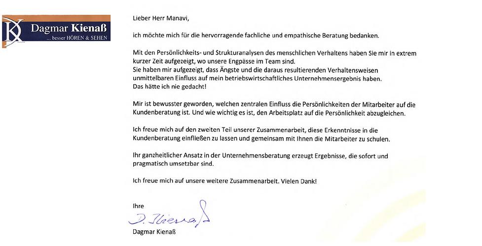 referenz Dagmar Kienaß
