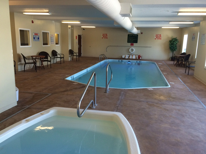 Indoor Heated Pool & Jacuzzi