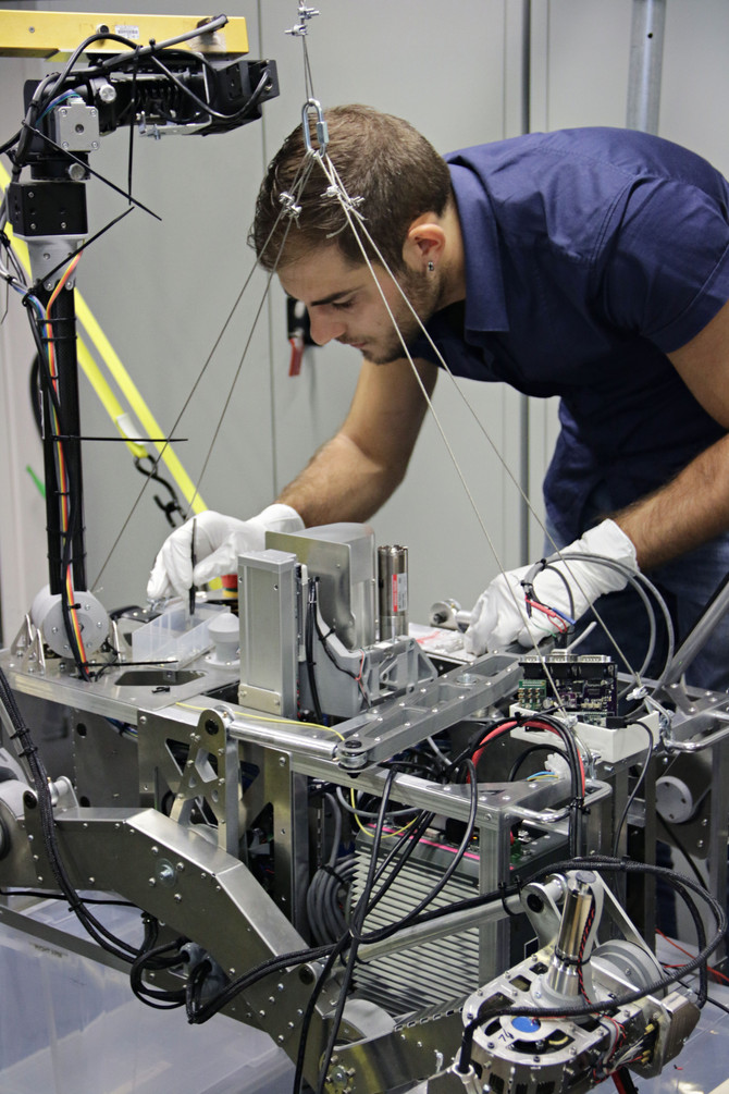 Successful LUVMI testing at Space Applications