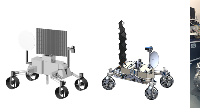The Design Evolution of the LUVMI Rover