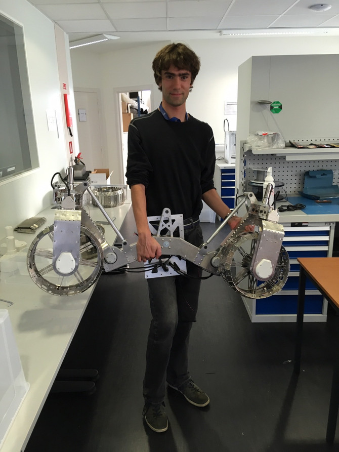 LUVMI Rover Assembly