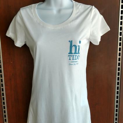 White Scoop Neck T-Shirt