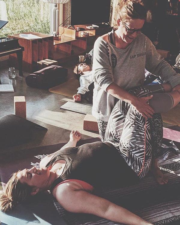 Our Thai Yoga Massage Practitioner train