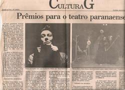 Prêmios para o teatro paranaense, Gazeta do Povo