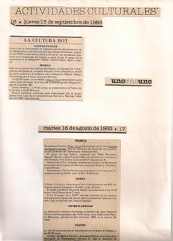 unomásuno, 16 de Agosto de 1983