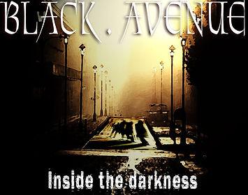 Black avenue inside the darkness
