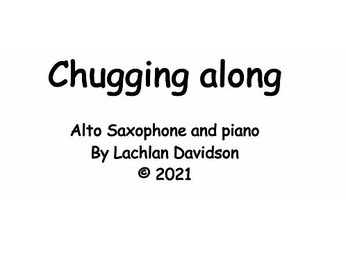 Chugging along for Alto sax and piano
