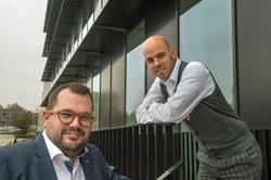 Michiel Ruys en Matthias Penninck