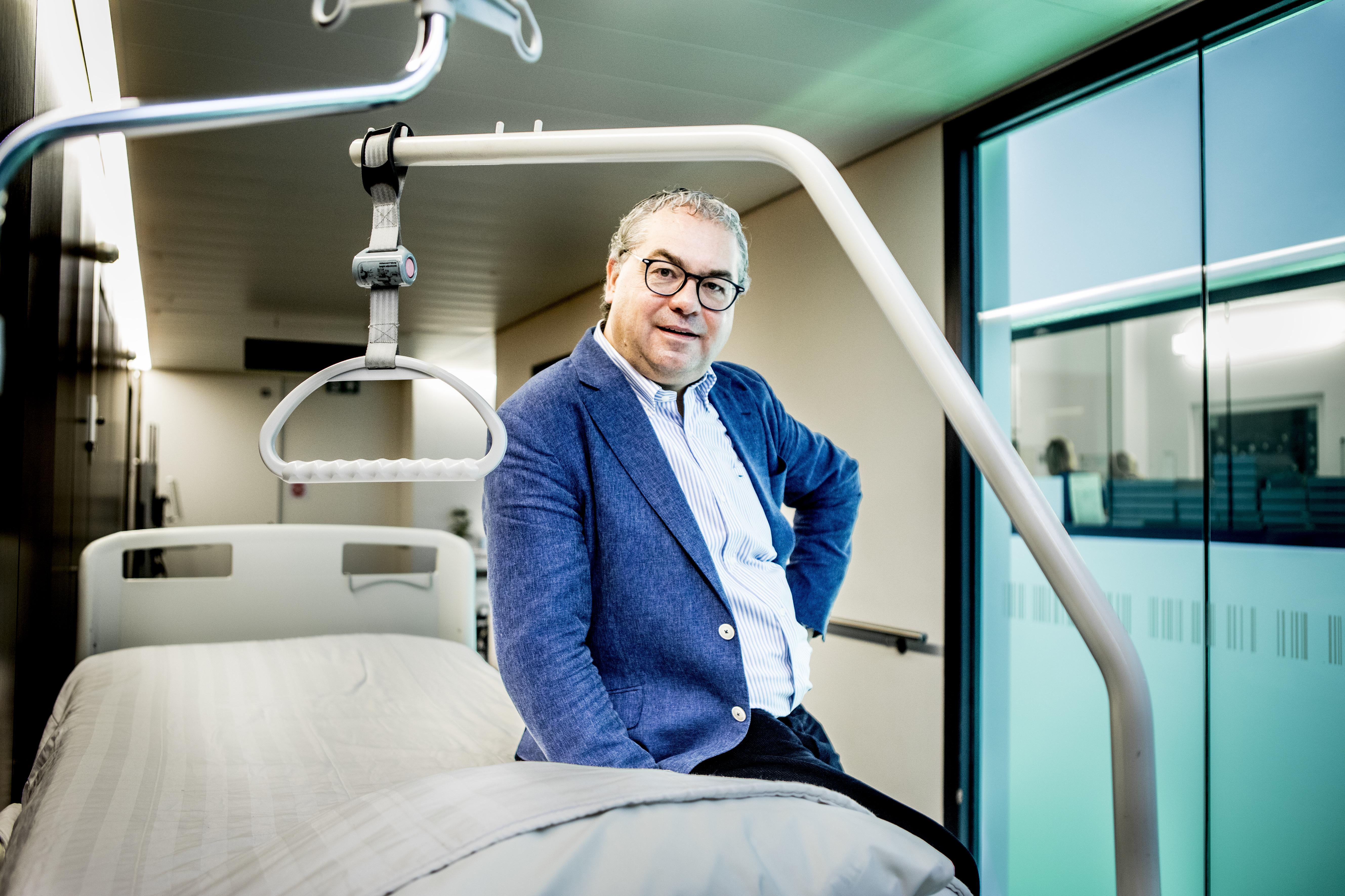 Tino Gabriel, financieel directeur AZ Groeninge