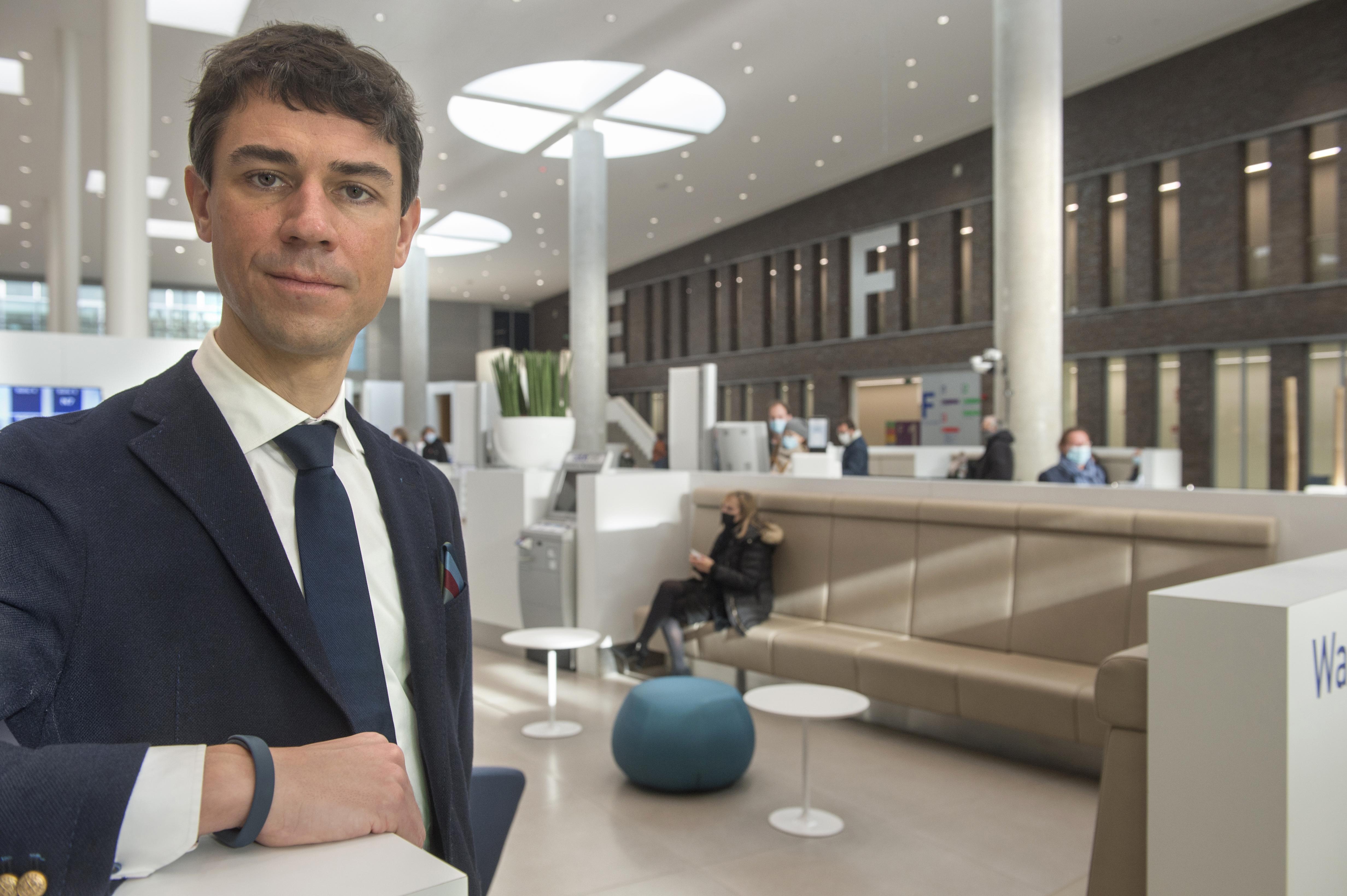Frederik Coussee, CFO bij AZ Maria Middelares