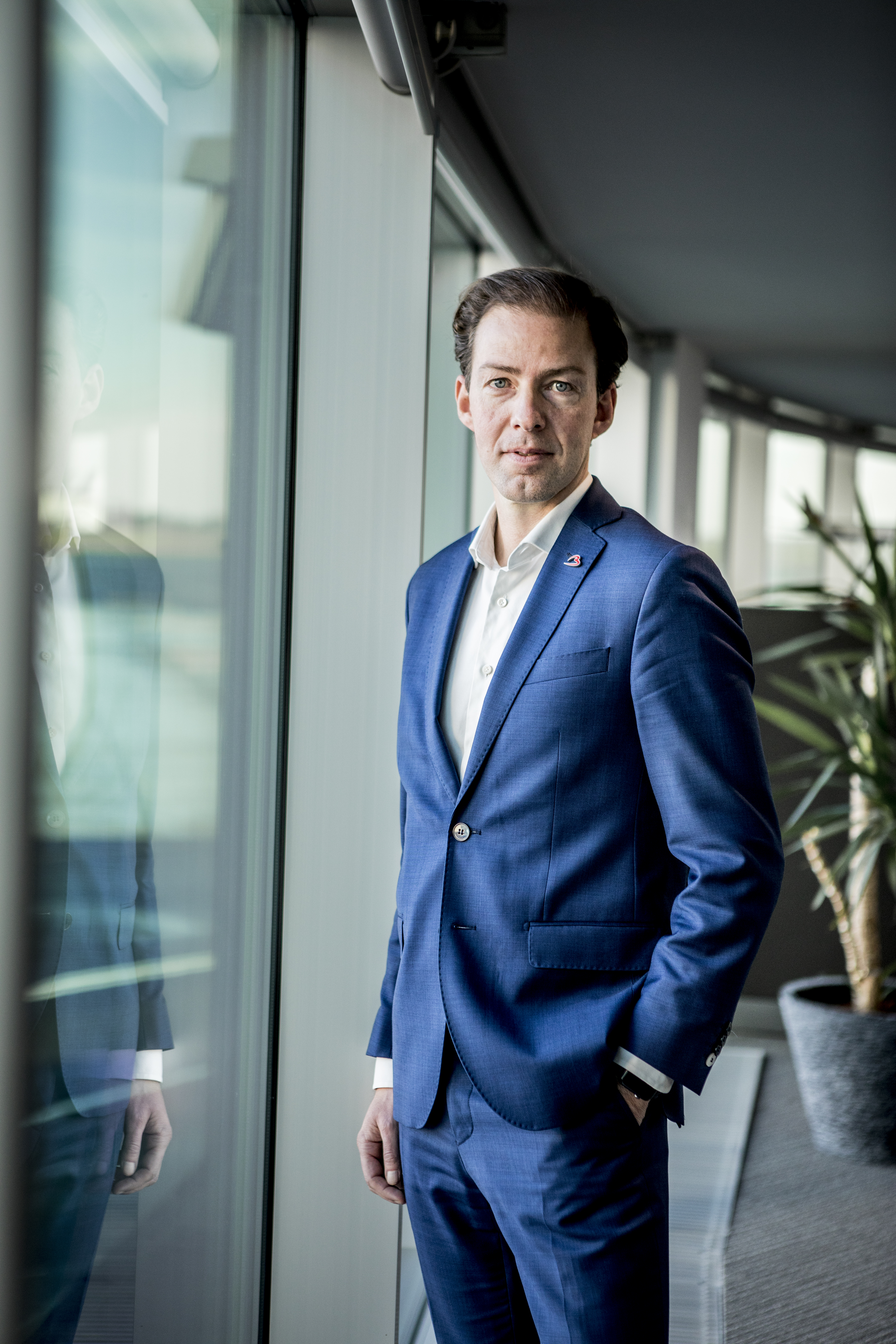 Davy Vreys, CFO bij Brussels Airport Company