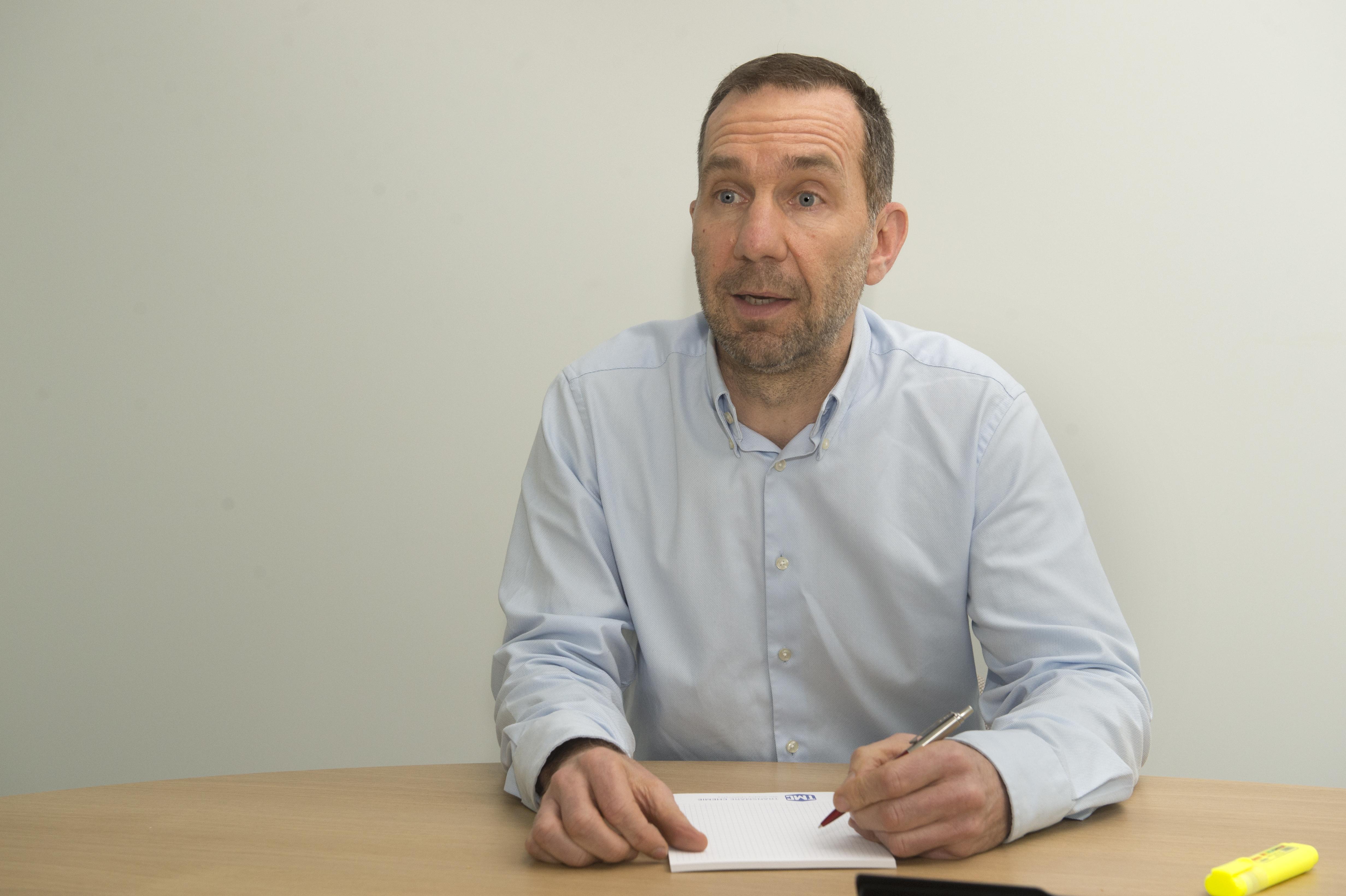 Koen Berghmans, CFO Transmare