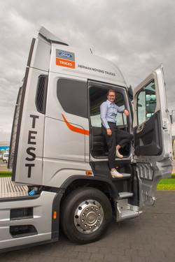 Tinne Claes, Ford Trucks België