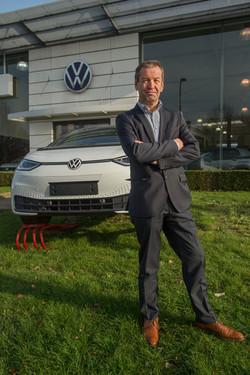 Guy Van den Broecke, Head of Controlling Volkswagen International Belgium