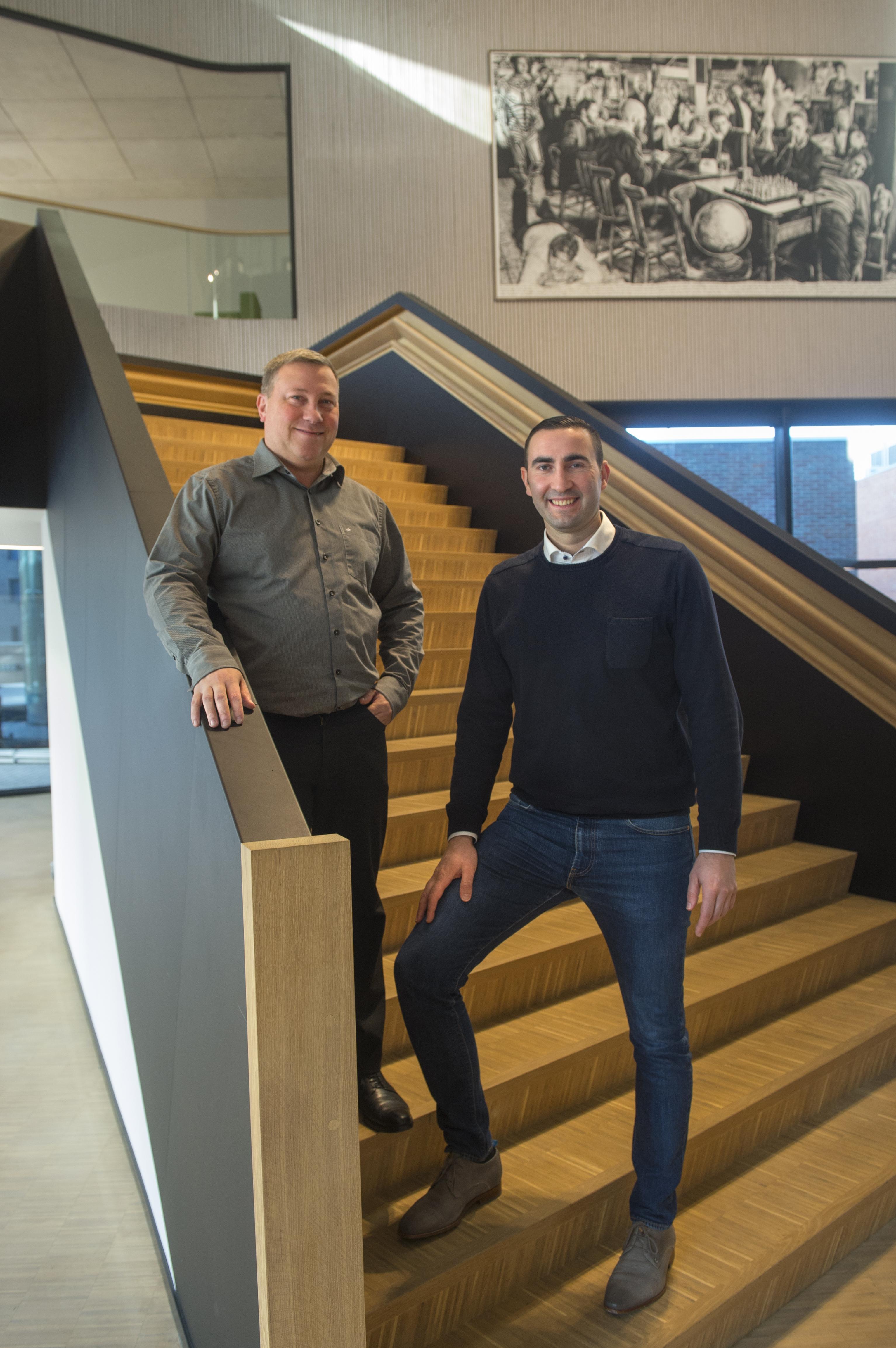 Rudi Roosen en Gert Steegmans