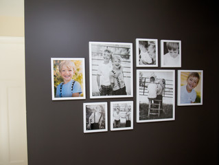 Project Time! | Gallery Wall Display
