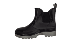 Outback Steel Ankle Boot, Black/Grey