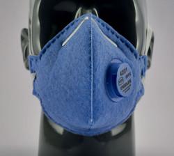 Greenline #4201 FFP2V Valved Masks