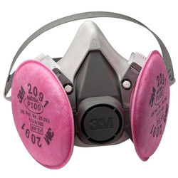 3M #6000 Lead & Asbestos Respirator Comb
