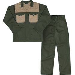 Two Tone Polycotton Conti Suit