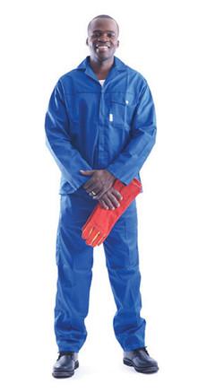 J54 100% Cotton Royal Blue 2PC Conti sui