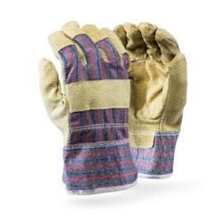 Pig Skin Candy Stripe Gloves