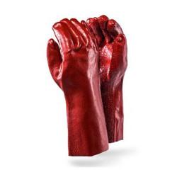 Red PVC Heavy Duty Elbow Glove