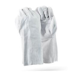 8″ Chrome Leather Glove