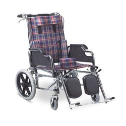 Chromed Steel Frame Wheelchair