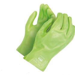 Centurion Green PVC Open Cuff Wrist Glov