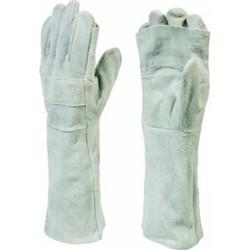 8″ Chrome Leather Apron Palm Glove