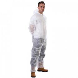 Coverall, Non-Woven Material Disposable.