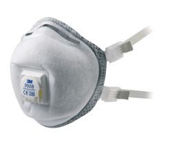 3M #9928 FFP2 Valved Mask Respirator