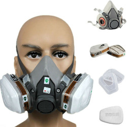 3M #6200 Gas Mask Spray Painting Respirator